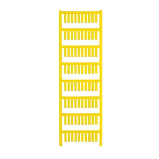 Gerätemarkierung Montageart: aufschieben Beschriftungsfläche: 15 x 4 mm Passend für Serie Weidmüller TM-H Hülsen Gelb Weidmüller TM-I 15 NEUTRAL GE 1609981687 Anzahl Markierer: 400 400 St.
