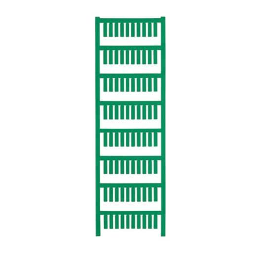 Gerätemarkierung Montage-Art: aufschieben Beschriftungsfläche: 15 x 4 mm Passend für Serie Weidmüller TM-H Hülsen Grün W