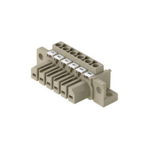 Weidmüller Stiftgehäuse-Kabel Polzahl Gesamt 6 Rastermaß: 7 mm 1612080000 10 St.