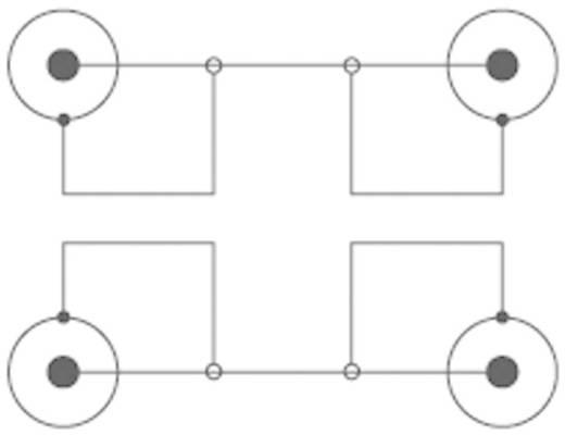 Cinch Audio Anschlusskabel [2x Cinch-Stecker - 2x Cinch-Stecker] 1.50 m Schwarz SpeaKa Professional