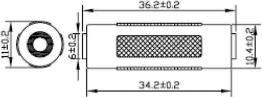 SpeaKa Professional Klinke Audio Adapter [1x Klinkenbuchse 3.5 mm - 1x Klinkenbuchse 3.5 mm] Schwarz