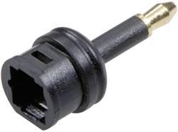 Adaptér Toslink/jack SpeaKa Professional zástrčka jack 3,5 mm ⇔ Toslink zásuvka (ODT), černá