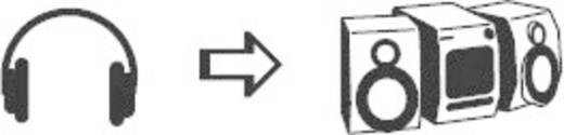 SpeaKa Professional 325126 Klinke Audio Y-Adapter [1x Klinkenstecker 6.35 mm - 2x Klinkenbuchse 6.35 mm] Schwarz
