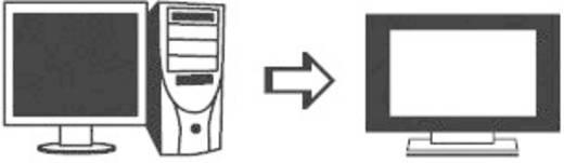 SpeaKa Professional S-Video / Cinch Adapter [1x S-Video-Stecker - 1x Cinch-Buchse] Schwarz