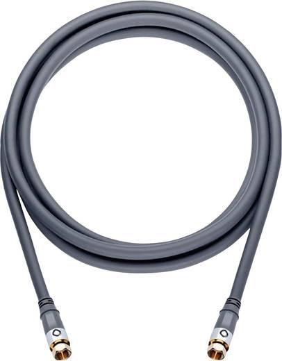 Oehlbach SAT Anschlusskabel [1x F-Stecker - 1x F-Stecker] 3.20 m 120 dB vergoldete Steckkontakte Silber
