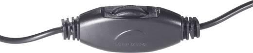 Klinke Audio Verlängerungskabel [1x Klinkenstecker 3.5 mm - 1x Klinkenbuchse 3.5 mm] 6 m Schwarz mit Lautstärkeregler Sp