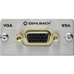 Image of Oehlbach PRO IN MMT-C VGA VGA Multimedia-Einsatz mit Kabelpeitsche