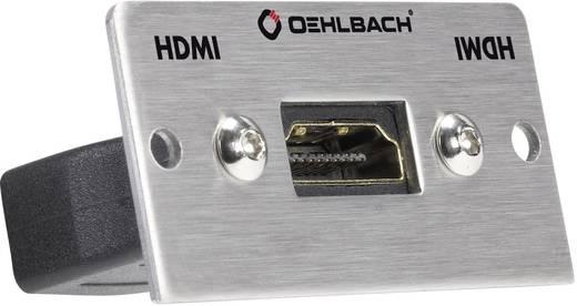 HDMI Multimedia-Einsatz mit Genderchanger Oehlbach PRO IN MMT-G HS
