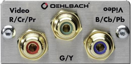 Component Cinch Multimedia-Einsatz mit Lötanschluss Oehlbach PRO IN MMT COMPONENT
