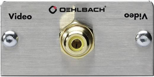 Composite Cinch Multimedia-Einsatz mit Lötanschluss Oehlbach PRO IN MMT VIDEO