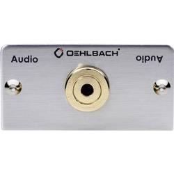 Image of Oehlbach PRO IN MMT-C AUDIO-35 Klinke Multimedia-Einsatz mit Kabelpeitsche