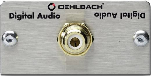 Cinch-Digital Multimedia-Einsatz mit Lötanschluss Oehlbach PRO IN MMT DIGITAL AUDIO