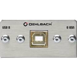 Image of Oehlbach PRO IN MMT-C USB.2 B/B USB 2.0 Multimedia-Einsatz mit Kabelpeitsche