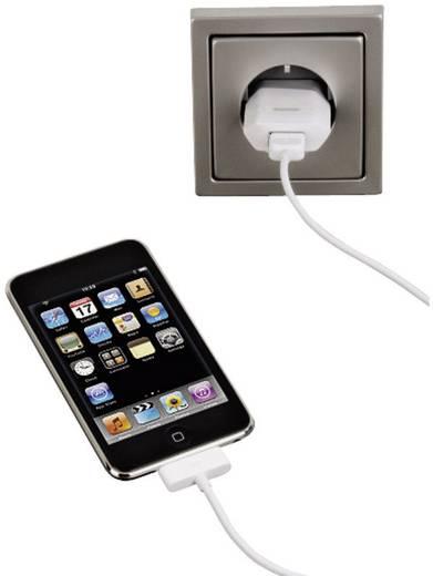USB-Ladegerät Hama USB-Ladegerät für iPod/iPhone 00014123 Steckdose Ausgangsstrom (max.) 800 mA 1 x USB