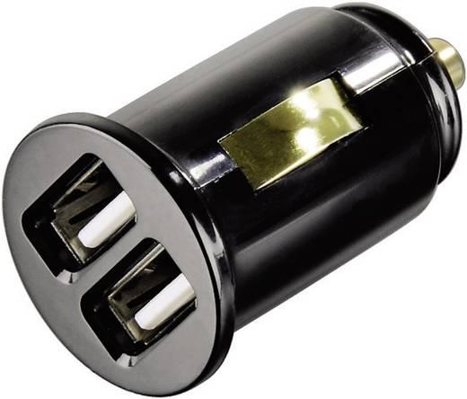 USB-Ladegerät KFZ Hama 00014118 Ausgangsstrom (max.) 2000 mA 2 x USB