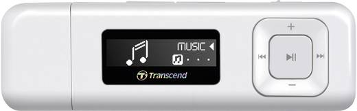 Transcend MP330 MP3-Player 8 GB Weiß FM Radio, Befestigungsclip