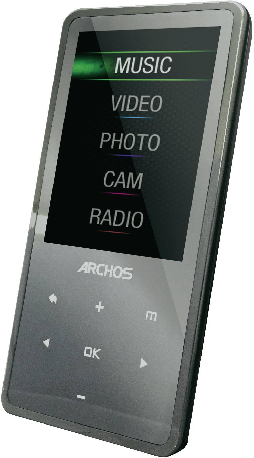 archos 24c vision multimedia player 8 gb 8 gb grey from conrad rh conrad electronic co uk Archos 43 Internet Tablet Archos 28 Internet Tablet