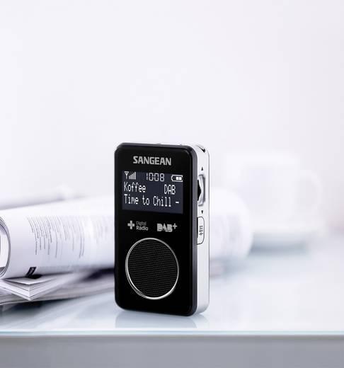 DAB+ Taschenradio Sangean DPR-34+ DAB+, UKW wiederaufladbar Schwarz
