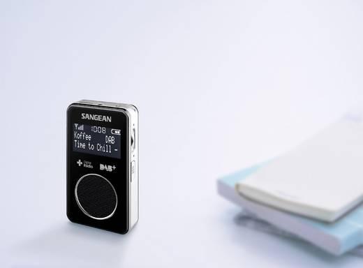 Sangean DPR-34+ DAB+ Taschenradio DAB+, UKW wiederaufladbar Schwarz