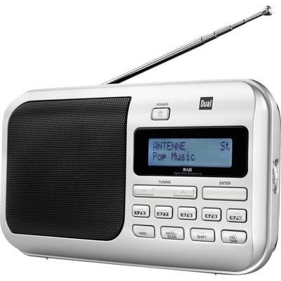 Dual DAB 4 DAB+ Kofferradio DAB+, UKW Silber Preisvergleich