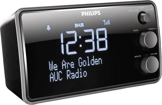 Philips AJB3552 DAB+ Radiowecker Schwarz
