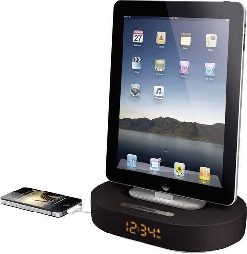 philips ds1200 fidelio lautsprecher f r ipad ipod iphone mit 30 pin anschluss kaufen. Black Bedroom Furniture Sets. Home Design Ideas