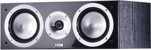 Canton Chrono 505 Center Centerlautsprecher Schwarz high-gloss 140 W 350 bis 3000 Hz 1 St.