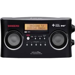 DAB+ rádio Sangean DPR-25 +, FM, čierne