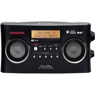 Sangean DPR-25+ DAB+ Kofferradio AUX, DAB+, UKW Akku-Ladefunktion Schwarz Preisvergleich