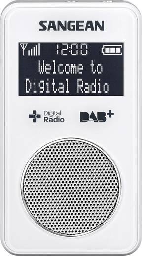 DAB+ Taschenradio Sangean DPR-34 blanche DAB+, UKW wiederaufladbar Weiß