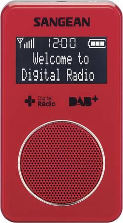 Kapesní DAB+ rádio Sangean DPR-34+, červená