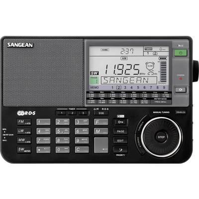 Weltempfänger Sangean ATS-909 X AUX, KW, LW, MW, UKW Akku-Ladefunktion Schwarz Preisvergleich