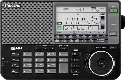 Weltempfänger Sangean ATS-909 X AUX, KW, LW, MW, UKW Schwarz