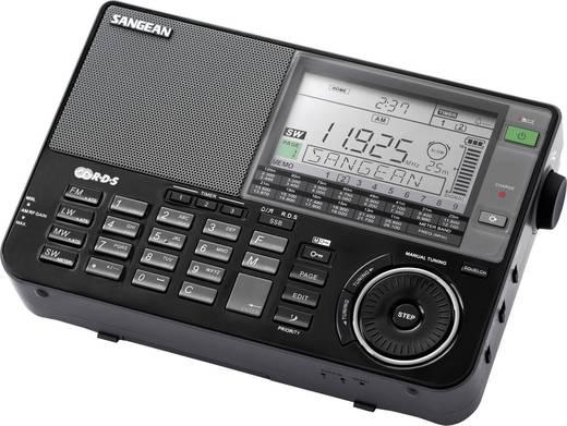 Weltempfänger Sangean ATS-909 X AUX, KW, LW, MW, UKW Akku-Ladefunktion Schwarz