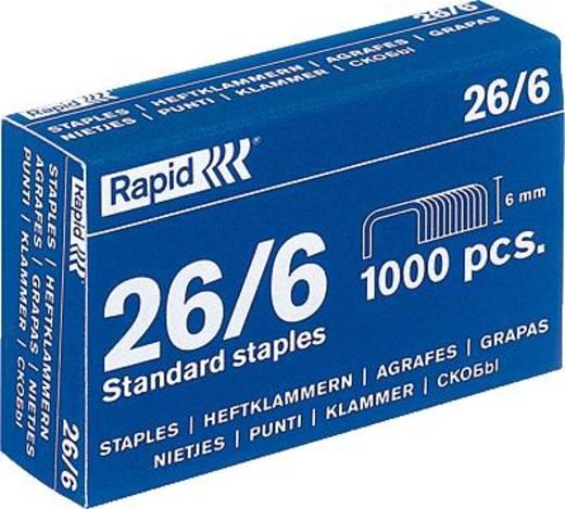 Rapid Heftklammer 26/6/20710501 verzinkt Inh.1000