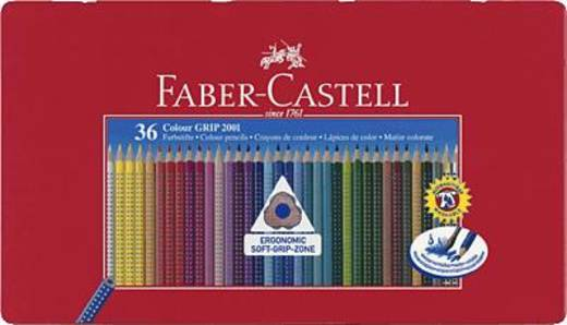 Faber-Castell Farbstift Colour GRIP 2001 Blechetui 36er/112435 Inh.36