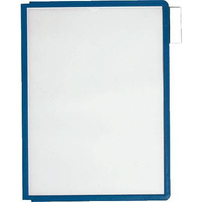 Durable Sichttafel Sherpa Panel A4 5606 Dunkelblau Din A4 Anzahl