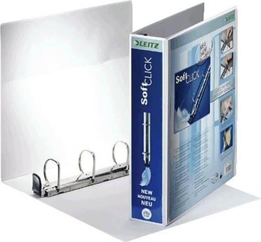 Leitz Präsentationsringbuch Premium SoftClick 4203 DIN A4, Überbreite Rückenbreite: 69 mm Weiß 42030001 1 St.