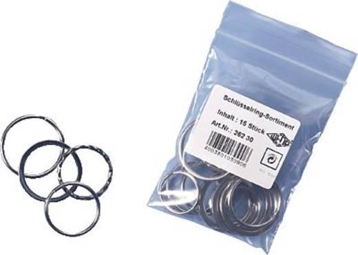 Schlüsselringe WEDO 26230015 Silber 15 St.