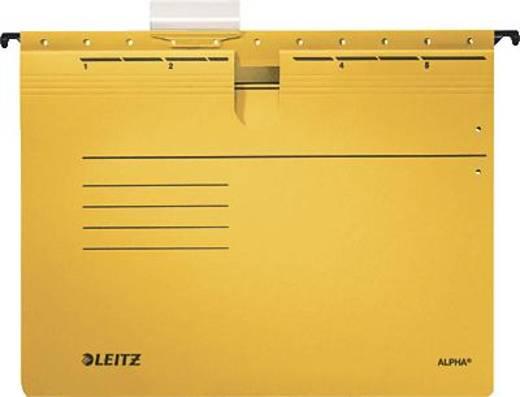Leitz ALPHA Hängehefter/1984-30-15 A4 gelb 250g/qm Inh.5