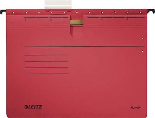 Leitz ALPHA Hängehefter/1984-30-25 A4 rot 250g/qm Inh.5
