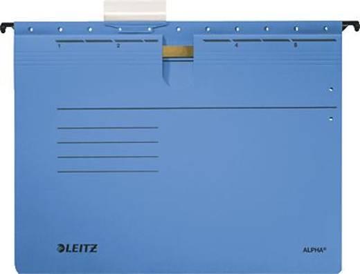 Leitz ALPHA Hängehefter/1984-30-35 A4 blau 250g/qm Inh.5
