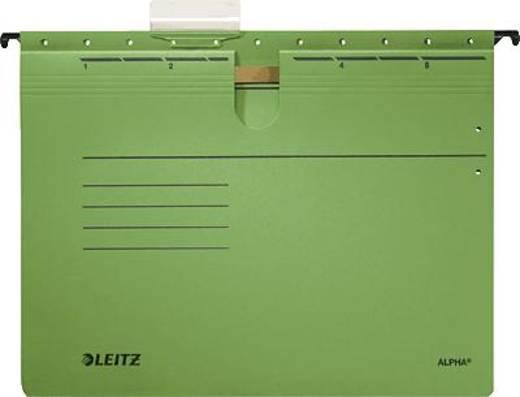 Leitz ALPHA Hängehefter/1984-30-55 A4 grün 250g/qm Inh.5