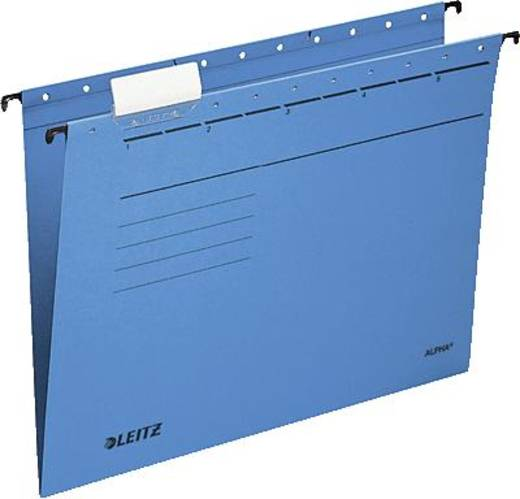 Leitz ALPHA Hängemappe/1985-30-35 A4 blau 230g/qm Inh.5
