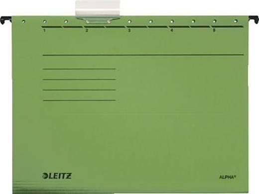 Leitz ALPHA Hängemappe/1985-30-55 A4 grün 250g/qm Inh.5