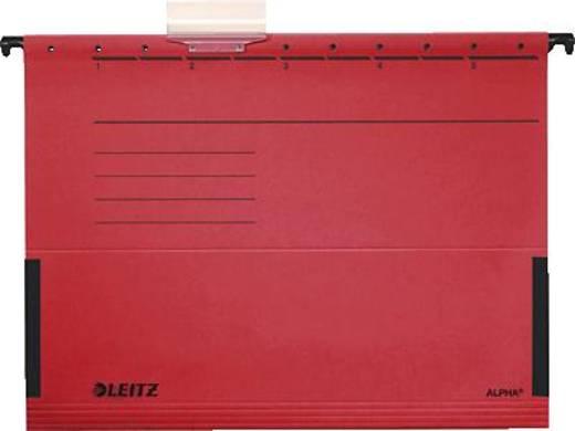 Leitz ALPHA Hängetasche/1986-30-25 A4 rot 250g/qm Inh.5