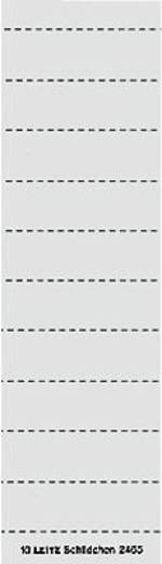 Leitz Beschriftungsetiketten 2465/2465-00-01 50x15mm weiß Karton Inh.100
