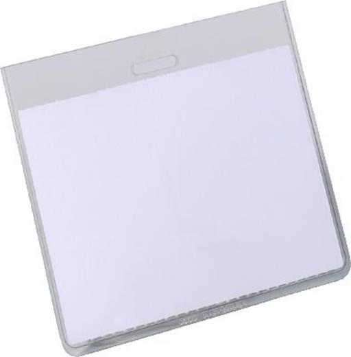 Durable Namensschilder ohne Clip farblos geschlossen 20St., 8135-19