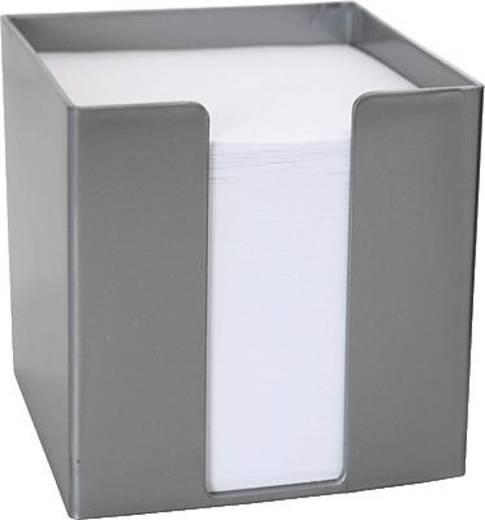 M&M Zettelbox/69020364SP 95x95x95 mm silber Inh.700 Blatt