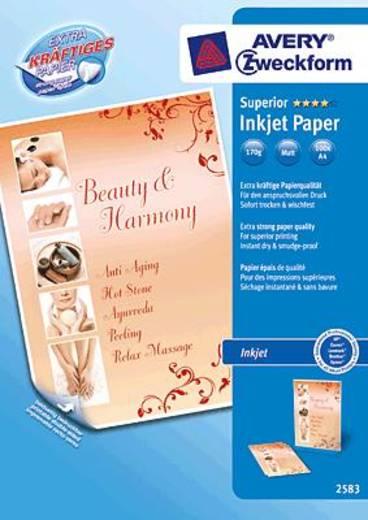 Tintenstrahl Druckerpapier Avery-Zweckform Superior Inkjet Paper 2583 DIN A4 170 g/m² 100 Blatt Weiß